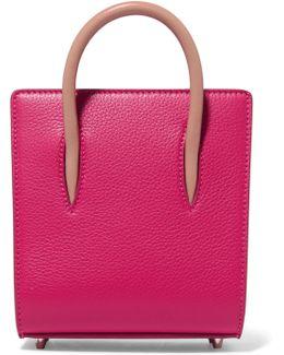 Paloma Nano Studded Textured-leather Tote