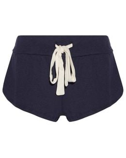 Heather Jersey Pajama Shorts