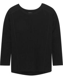 Stretch-pima Cotton Jersey Top