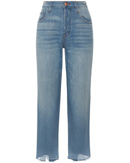 Ivy High-rise Straight-leg Jeans
