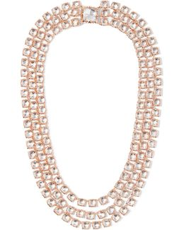 Antoinette Rivière Rose Gold-dipped Topaz Necklace