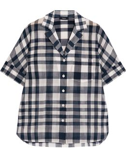 Ralfinn Plaid Cotton-voile Shirt