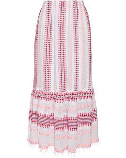 Tabtab Convertible Cotton-blend Gauze Maxi Skirt