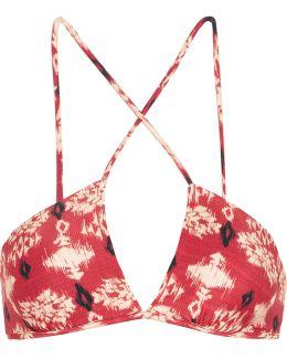 Kali Celina Printed Bikini Top