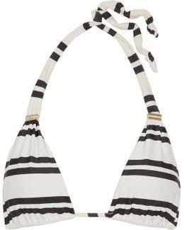 Classic Bia Tube Striped Triangle Bikini Top