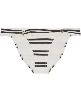 Classic Bia Tube Striped Bikini Briefs