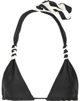 Solid Reversible Triangle Bikini Top