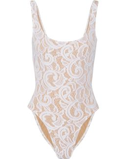 Mio Stretch-lace Swimsuit
