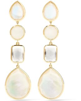 Rock Candy 18-karat Gold Multi-stone Earrings