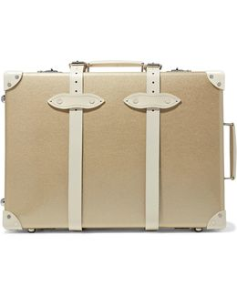 "Champagne 21"" Leather-trimmed Fiberboard Travel Trolley"