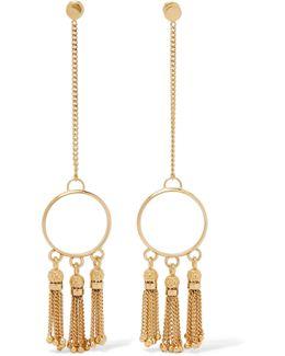 Lynn Gold-tone Earrings