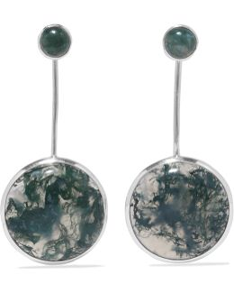 Agnes Silver Agate Earrings