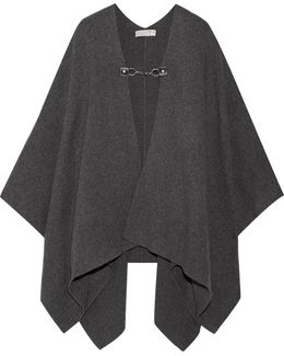 Wool And Cashmere-blend Cape