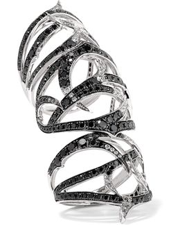 Thorn 18-karat White Gold Diamond Ring