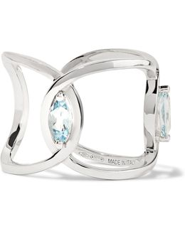 18-karat White Gold Aquamarine Ring