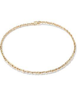 18-karat Gold Diamond Choker