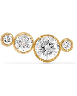 Flacon Diamant 18-karat Gold Diamond Earring