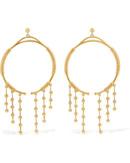 Exclusive Gold-tone Hoop Earrings