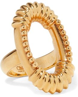 Exclusive Gold-tone Ring