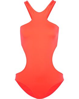 Ibiza Neon Cutout Swimsuit