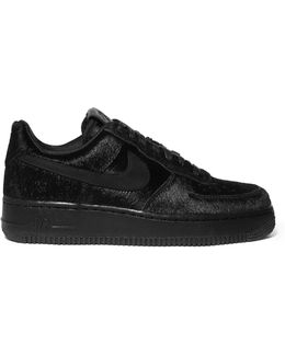 Air Force 1 Calf Hair Sneakers
