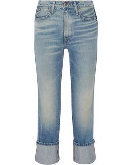 Rigid Re-release Le High Straight-leg Jeans