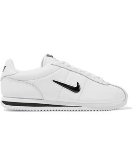 Cortez Basic Jewel Leather Sneakers