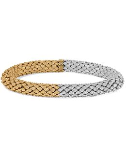 Twister 18-karat Yellow And White Gold Bracelet