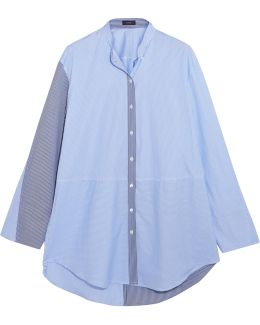 Lenny Striped Cotton-poplin Shirt