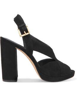 Becky Suede Platform Sandals