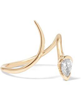 Sprout 18-karat Gold Diamond Ring