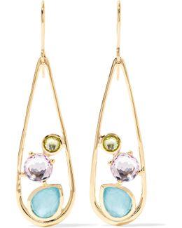 Rock Candy 18-karat Gold Multi-stone Earrings