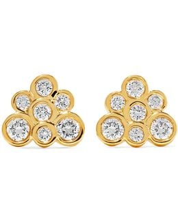 Starlet 18-karat Gold Diamond Earrings