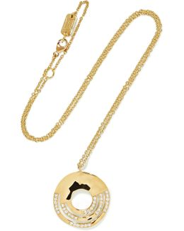 Senso 18-karat Gold Diamond Necklace