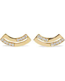 Senso 18-karat Gold Diamond Earrings