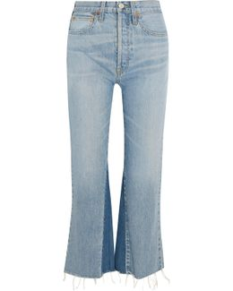Originals Cropped High-rise Flared Jeans