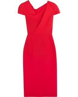 Burfield Wool-crepe Dress