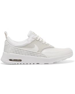 Air Max Thea Perforated Leather Sneakers