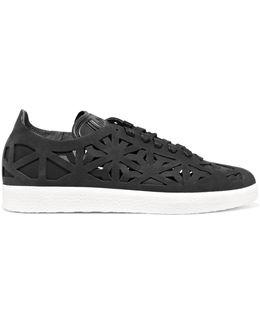 Gazelle Cutout Suede Sneakers