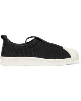 Superstar Waffle-knit Slip-on Sneakers