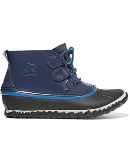Out N About Rain Waterproof Patent-leather And Rubber Boots