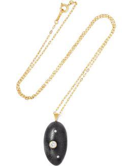 Lady Luck 18-karat Gold, Stone And Diamond Necklace