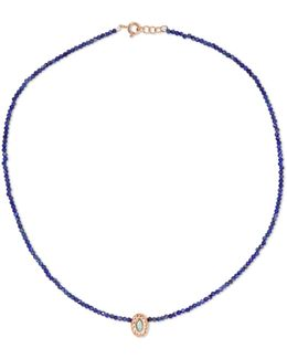 Montauk N°5 9-karat Rose Gold, Lapis Lazuli, Turquoise And Bakelite Necklace