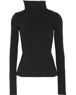 Stretch Wool-blend Jacket