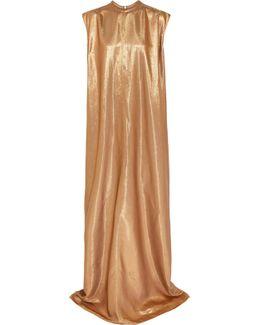 Audrey Lamé Maxi Dress