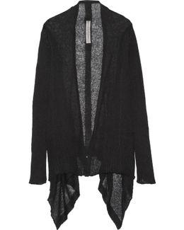 Open-knit Alpaca-blend Cardigan