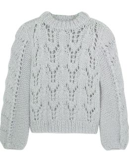 Faucher Mohair And Wool-blend Sweater