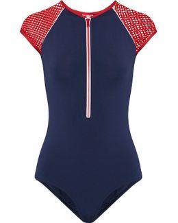 Honolua Mesh-trimmed Swimsuit