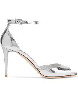 Annie Metallic Leather Sandals