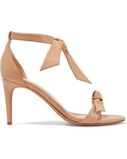 'clarita' Ankle Tie Sandal
